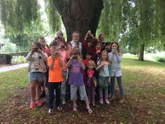 Fotoworkshop voor kids in het Arboretum Munnikepark in Zwijndrecht