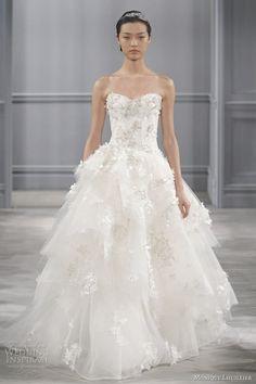 Monique Lhuillier 2014 Bridal