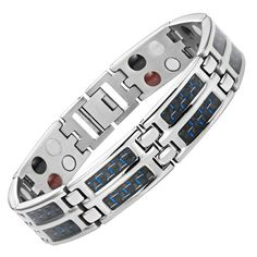 Magnetic bracelets can boost stamina and enhance your performance in sports.