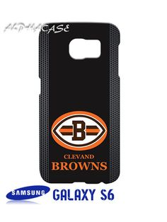 Cleveland Browns Custom Samsung Galaxy S6 Case Hardshell