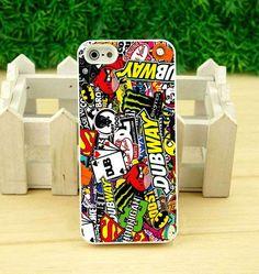 Dubway Sticker Bomb Case iPhone 4 5 5s 6 6s plus Samsung S Note iPod 5 Cases #UnbrandedGeneric