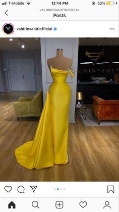 Indian Gowns Dresses, Gala Dresses, Ball Gown Dresses, Evening Dresses, Elegant Dresses Classy, Classy Dress, Beautiful Dresses, Nice Dresses, Satin Mermaid Wedding Dress