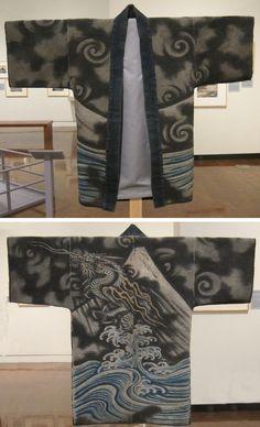 Hikeshi hanten (fireman's jacket),