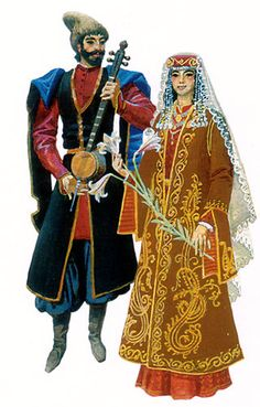 Armenian clothing from Javakhk/Javakheti (southern Georgia), late 19th century.