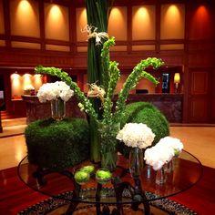 Hotel lobby flower design
