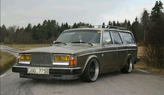 Volvo 245...yea right. Let's have a looksy under the hood! ;) #Saab #BornFromJets #Rvinyl =============================== https://www.rvinyl.com/Saab-Accessories.html