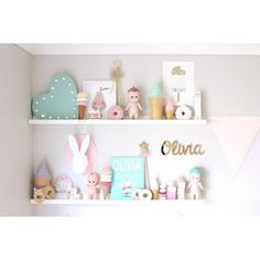 Kids room shelfie #mint