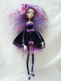 OOAK  Art  Doll  Natalie by Litriada on Etsy, $270.00