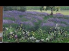 """Yellow Broom Spring"" Part 2 - Acrylic Country Landscape and Barn Painting Demo - YouTube"