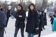 Capucine Safyurtlu, fashion & market editor de Vogue Paris et Emmanuelle Alt, redactrice en chef de Vogue Paris