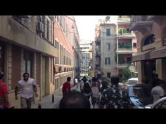فيديو كامل يظهر اعتداء ميليشيا نديم الجميل على مواطنين\ات