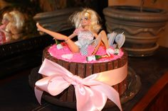 Drunk Barbie Cake - Kristine's19th Birthday