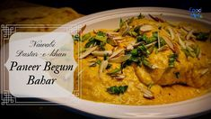 Best ever vegetarian spin to Mughlai Cuisines from Food Mint Cottage Cheese Recipes, Paneer Recipes, Spin, Curry, Vegetarian, Chicken, Meat, Ethnic Recipes, Food