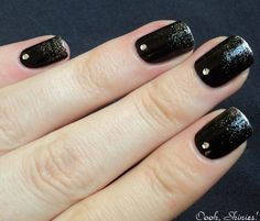 great way to spruce up dark nails