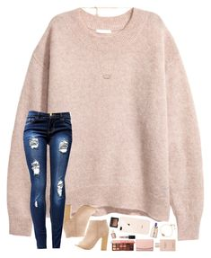 """""""a weekend full of snow, catching up on homework, and decorating for christmas☺️"""" by hopemarlee ❤ liked on Polyvore featuring H&M, Kendra Scott, Bamboo, tarte, NARS Cosmetics, Essie, Gucci, Tory Burch, MAC Cosmetics and Too Faced Cosmetics"""