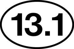 My Goal for 2012, half-marathon.