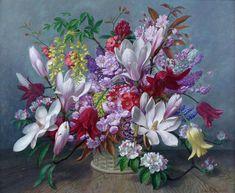 Цветочные натюрморты европейских художников. Обсуждение на LiveInternet - Российский Сервис Онлайн-Дневников