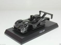 KYOSHO FERRARI MINICAR COLLECTION VI F333 SP BLACK 1/64 JAPAN #Kyosho #Ferrari
