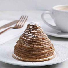Le meilleur dessert aux marrons (Mont Blanc)