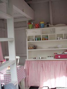 barnkök,rosa,lekstuga