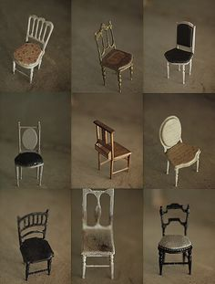 Miniature chair us: natural color of life ~ handmade furniture Handmade Furniture - http://amzn.to/2iwpdj4