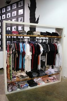 DIY Closet, use an Ikea Expedit bookcase maybe?