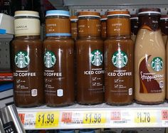 FREE Starbucks Iced Coffee PLUS Over $2 OVERAGE. via Grocery Shop For FREE At The Mart!