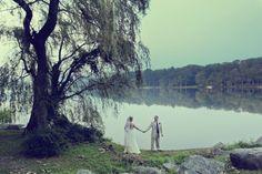 Lakeside Wedding In Poconos so beautiful