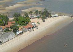 Praia do Caripi, Barcarena (PA)