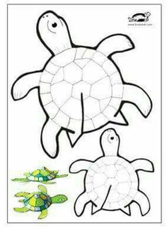 Teknős sablon