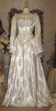 Medieval Princess Fantasy Gown Custom:
