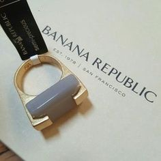 I just discovered this while shopping on Poshmark: Banana Republic Ring Semi-Precious Stone Size 8. Check it out! Price: $23 Size: OS