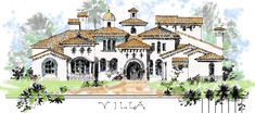 Luxury house plans for castles, manors, chateaux and Palaces in European and Gatsby Gilded Age period Styles