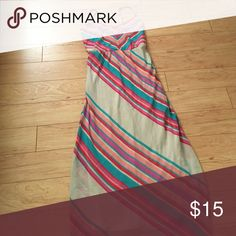 Maxi dress Worn once this maxi dress is perfect for special occasions. Sheer overlay with solid dress underneath HeartSoul Dresses Maxi