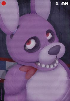 five nights at freddys bonnie | Five Nights at Freddy's Bonnie the Rabbit...or bunny?