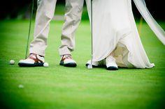 Golf theme wedding