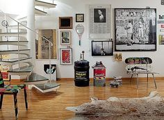 Pôsteres, fotografias, ilustrações: você pode imprimir tudo e criar uma parede de quadros (Foto: Luís Gomes/ Editora Globo)