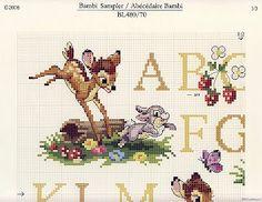 Punto Croce: Bambi