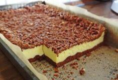Sernik w cieście kakaowym/ Cocoa dough cheesecake - Gosia's Food 'n' Lifestyle Romanian Desserts, Romanian Food, My Dessert, Dessert Drinks, Sweet Recipes, Cake Recipes, Dessert Recipes, Cacao Benefits, No Cook Desserts