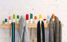 porte-manteau-mural-vintage-DIY-tournevis-manches-peintes