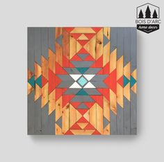 The Aspen Home Decor Wood Wall Art Wooden Decor by BoisDArcHome