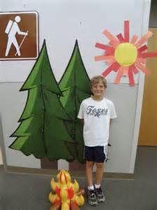 camping theme classroom -
