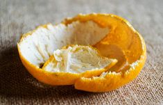 Home Remedies For Dandruff - Orange Peel Pack