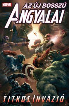 Bosszú Angyalai-kötetek : Az Új Bosszú Angyalai: Titkos Invázió