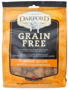 Darford Grain Free Pumpkin Recipe Oven Baked Dog Treats