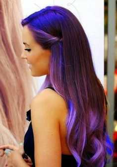 The Purple Hair Color