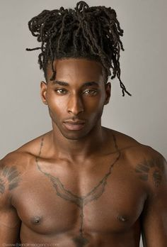 Black Men Natural Hair, Locs, Dreads w/ edges up Black Men Haircuts, Black Men Hairstyles, Afro Hairstyles, Afro Punk, Natural Hair Care, Natural Hair Styles, Long Hair Styles, Black Is Beautiful, Beautiful People