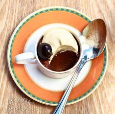 Chocolate Espresso Pots de Creme with Espresso Whipped Cream