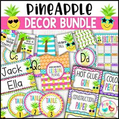Pineapple Decor Bundle