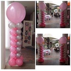 Cherri& Balloons: Elegant Balloon Decor - Weddings and Bat Mitzvahs // Tempe Arizona Balloons - - Balloon Columns, Balloon Arch, Balloon Garland, Balloon Decorations, Wedding Decorations, Balloon Ideas, Tempe Arizona, Birthday Balloons, Birthday Parties